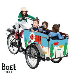 Babboe BOET Lastenrad Aufkleber Big