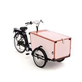 Babboe Pro Lastenfahrrad Aufkleber Trike Holz 3 Paneele + klappe