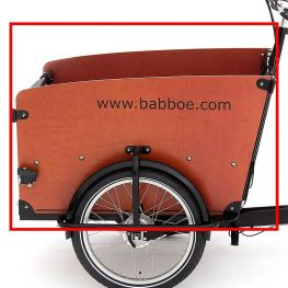 Babboe Seiten paneel links Big GWA holz