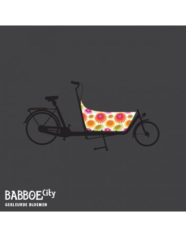 Babboe Reflektierende Lastenrad Aufkleber City