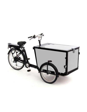 Babboe Lastenfahrrad Aufkleber Pro Trike schwarz - 4 Paneele + klappe
